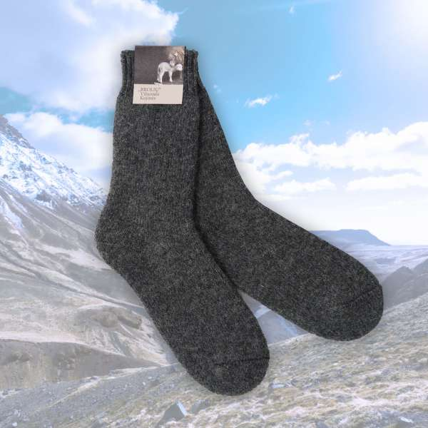 Merino Socken (grau)